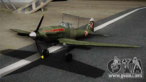 ИЛ-10 polaca de la Marina para GTA San Andreas