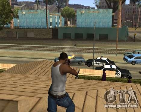 M4A1-S Syrex CS:GO para GTA San Andreas sucesivamente de pantalla