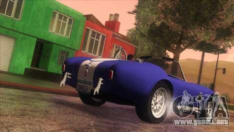Vanilla ENB Series para GTA San Andreas