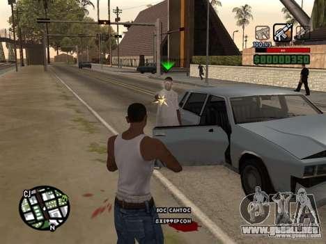 CLEO de HP en números para GTA San Andreas tercera pantalla