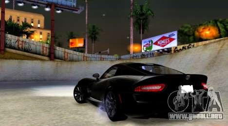 ENB Cal HD por medio de la PC para GTA San Andreas tercera pantalla
