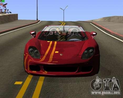 ENB JP para GTA San Andreas sucesivamente de pantalla
