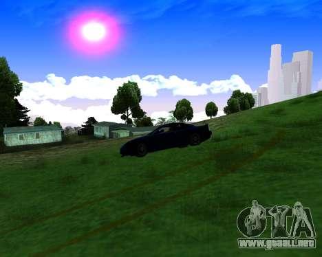 Warm California ENB para GTA San Andreas quinta pantalla