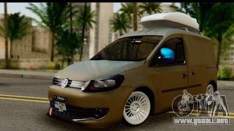 Volkswagen Caddy para GTA San Andreas