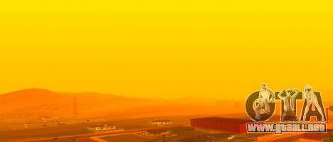 Brillante Colormod para GTA San Andreas sucesivamente de pantalla