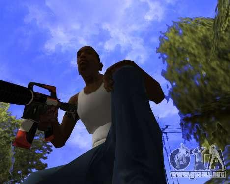 M4A1-S Syrex CS:GO para GTA San Andreas quinta pantalla
