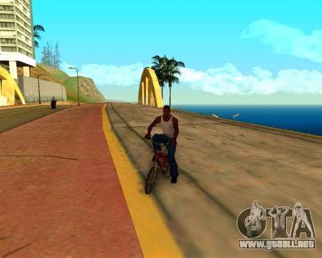 ENB v3.0.1 para GTA San Andreas quinta pantalla
