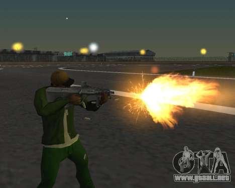 Hermosas tomas de armas para GTA San Andreas tercera pantalla