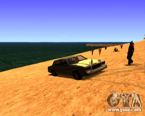 ENB v3.0.0 para PC débil para GTA San Andreas tercera pantalla
