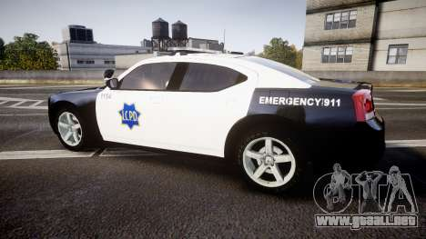Dodge Charger 2010 LCPD [ELS] para GTA 4 left