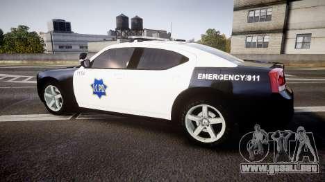 Dodge Charger 2010 LCPD [ELS] para GTA 4 left