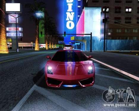 ENB plus para GTA San Andreas segunda pantalla