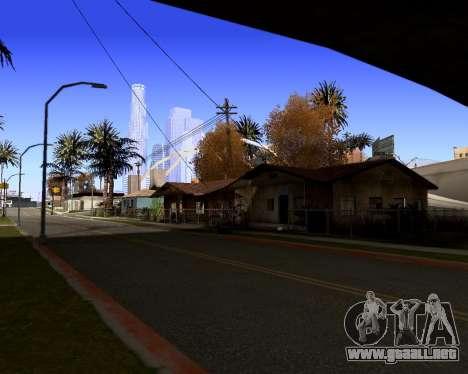 Graphic Update ENB Series para GTA San Andreas tercera pantalla