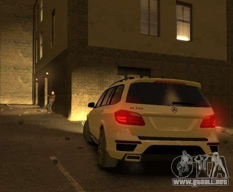 Mercedes-Benz GL500 2014 para GTA 4 visión correcta