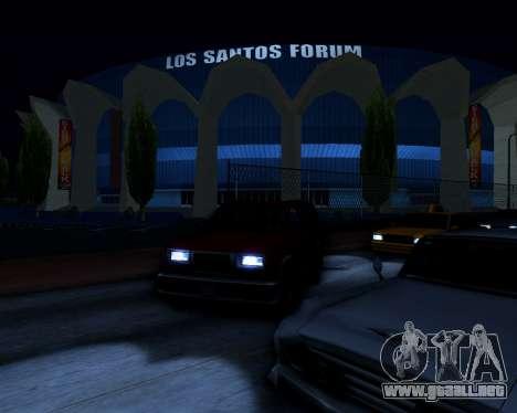 ENB v3.0.1 para GTA San Andreas tercera pantalla