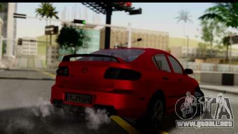 Mazda 3 2008 para GTA San Andreas left