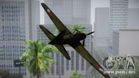 ИЛ-10 de la Fuerza Aérea checa para GTA San Andreas vista hacia atrás