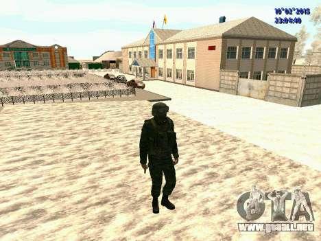 Spetsnaz MVD para GTA San Andreas sucesivamente de pantalla