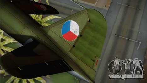 ИЛ-10 de la Fuerza Aérea checa para GTA San Andreas vista posterior izquierda
