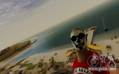 Warm Colors ENB para GTA San Andreas sucesivamente de pantalla
