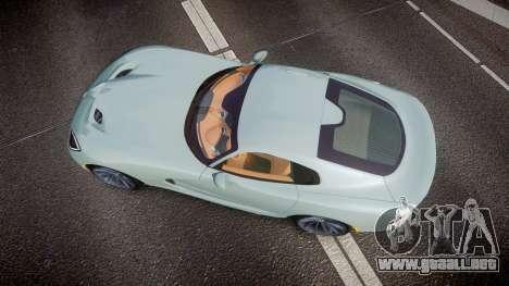 Dodge Viper SRT 2013 rims3 para GTA 4 visión correcta