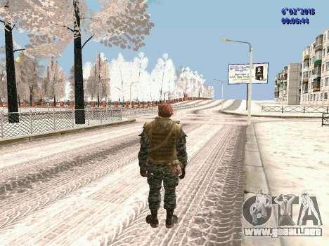 Las fuerzas especiales de la URSS CoD Black Ops para GTA San Andreas tercera pantalla