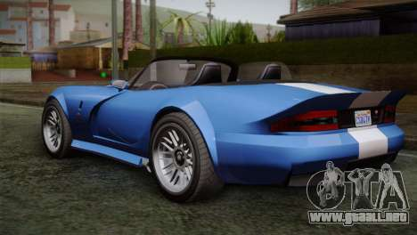 GTA 5 Bravado Banshee para GTA San Andreas left