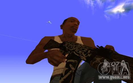 AK-47, Desert rebel CS:GO para GTA San Andreas