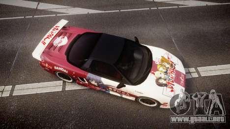 Honda NSX 1998 [EPM] k-on tainaka ritsu para GTA 4 visión correcta