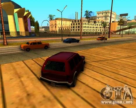ENB v3.0.1 para GTA San Andreas segunda pantalla