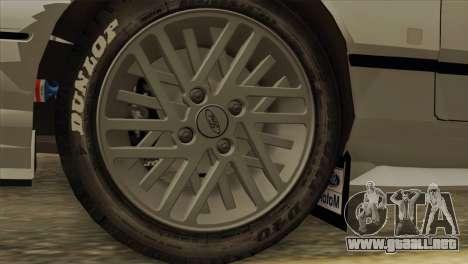 Ford Sierra Sapphire 4x4 RS Cosworth para la visión correcta GTA San Andreas