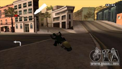 Navegador GPS con la voz de rusia para GTA San Andreas tercera pantalla
