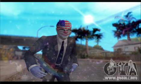 ENB GTA V para muy débil PC para GTA San Andreas segunda pantalla
