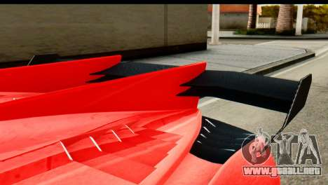 GTA 5 Pegassi Zentorno v2 IVF para la visión correcta GTA San Andreas