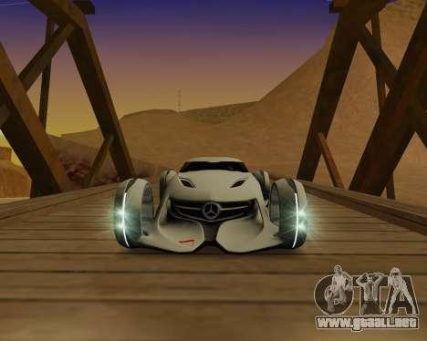 Mercedes-Benz Silver Arrows para GTA San Andreas left