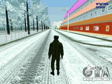 Pak militar de la Federación de rusia en el invi para GTA San Andreas segunda pantalla