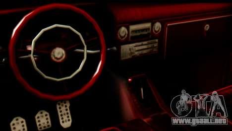EFLC TLaD Vapid Slamvan SA Mobile para la visión correcta GTA San Andreas