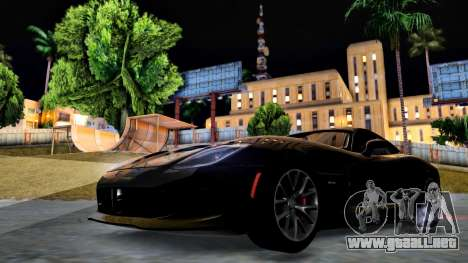 ENB Cal HD por medio de la PC para GTA San Andreas quinta pantalla