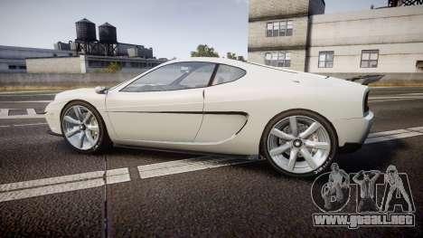 Grotti Turismo GT Carbon v2.0 para GTA 4 left