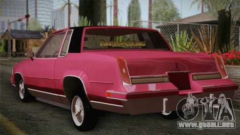 Oldsmobile Cutlass 1987 v2.2 para GTA San Andreas left
