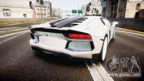 Lamborghini Aventador Hamann Limited 2014 [EPM] para GTA 4 Vista posterior izquierda