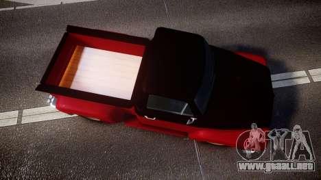 GTA V Vapid Slamvan para GTA 4 visión correcta