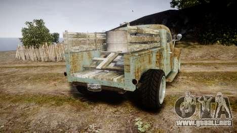 GTA V Bravado Rat-Loader rust para GTA 4 Vista posterior izquierda