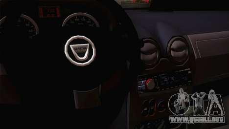 Dacia Logan 2006 para GTA San Andreas vista hacia atrás