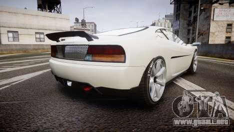 Grotti Turismo GT Carbon v2.0 para GTA 4 Vista posterior izquierda