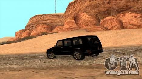 Mercedes-Benz G55 para la visión correcta GTA San Andreas