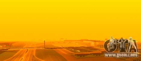 Brillante Colormod para GTA San Andreas tercera pantalla
