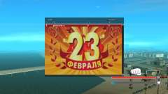 SampGUI - 23 De Febrero para GTA San Andreas