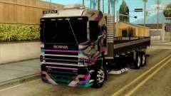 Scania 124G R400 Hatsune Miku Livery