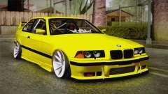 BMW M3 E36 DRY Garage para GTA San Andreas
